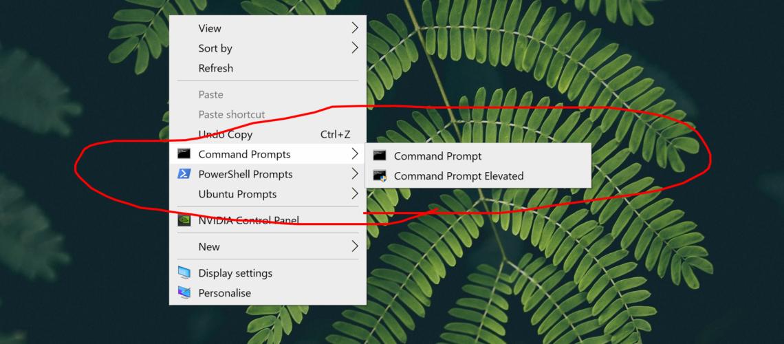 context-menus