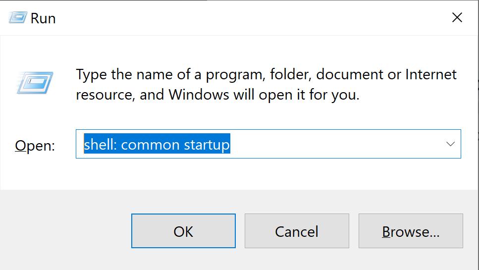 Startup folders in Windows 10 3