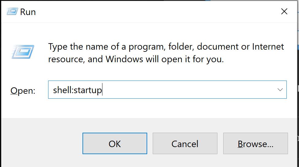 Startup folders in Windows 10 2
